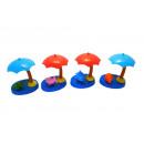 solar umbrella 11cm figurine dancing