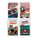 wholesale Lighters: Petrol Lighter   Route 66  3D assorted models