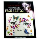groothandel Piercings & tattoos: gezicht tijdelijke  tattoo # 7  Mask  14cm