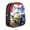 Großhandel Taschen & Reiseartikel: Star Wars Rucksack 3D Polyester 31cm