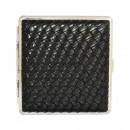 groothandel Food producten: metal cigarette case  Leather  black