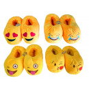 wholesale Shoes: Pair slippers  Smiley 22cm assorted models