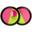 Ø catch ball game 16cm yellow / pink