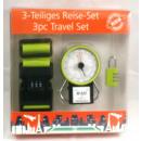 Großhandel Taschen & Reiseartikel: Reiseetui 3 Stück farblich sortiert