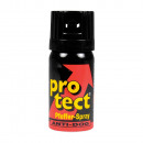 Gas canister defensive spray pepper 40m