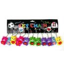 Bear Keychain 8.5cm love assorted colors