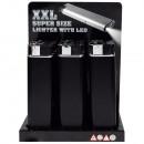Elektronische aansteker XXL LED  Super Size  black