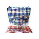 Großhandel Taschen & Reiseartikel: Einkaufstasche 2  Größe XL sortierte PVC Griffe