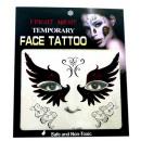 groothandel Piercings & tattoos: Tijdelijke Tattoo  gezicht # 4  Masker  14cm
