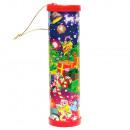 grossiste Articles de fête: Kaleidoscope de Noël 12cm