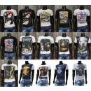 Modische Herren T-Shirts mit Motiv Restposten