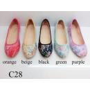 wholesale Shoes: Fashionable ladies  ballerina shoes per pair 8.29 E