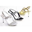 femmes à la mode fête chaussures hauts talons