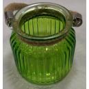 Kerzenglas Grün