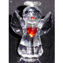 Glas Kristall Schutzengel groß