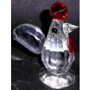 Verre petit poulet cristal