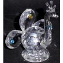 Verre en cristal Peacock petit