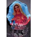 Glas Kristall Jungfrau Maria