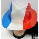 Holland & France chapeau de cow-boy en plastiq