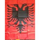 Albanienflagge 90x150 ohne Ösen