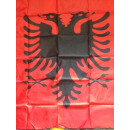 Albania 90x150 bandera sin ojales