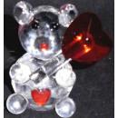 ratón de cristal de vidrio