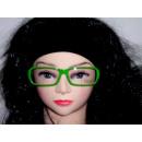 vidrio verde Sekräterinbrille