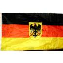 Deutschlandflagge mit Adler 90cm x 150cm