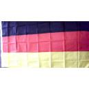 Deutschland Fahne mit 2 Ösen