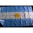 Bandera de Argentina con 2 ojales
