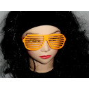 Atzenbrille orange