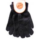 Handschuhe  schwarz  21cm