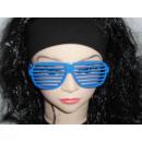 Atzenbrille blau
