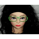 verde Sekräterinbrille sin cristal