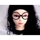 Partybrille schwarz