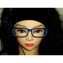 bleu sans verre Sekräterinbrille