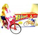 Fahrrad Musik Spiel Mädchen