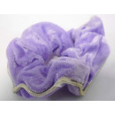 Haarzopfband terciopelo de color púrpura