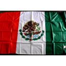 bandera de México con 2 ojales