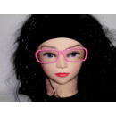 Sekräterinbrille con cristal de color rosa