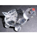 tortues en verre et cristal