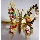 barrette de la mariposa