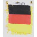 Deutschland Miniflagge