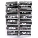 Garn 500m schwarz