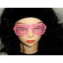 Atzenbrille pink
