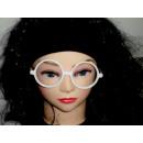 Partybrille weiß