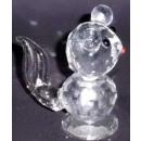 Verre écureuil cristal