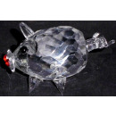 Glas Kristall Schwein klein