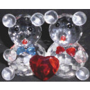 2er vidrio cristalino del ratón