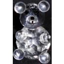 Vasos de cristal oso